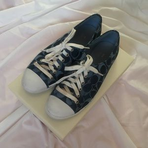 Coach sneakers 7.5 EUC